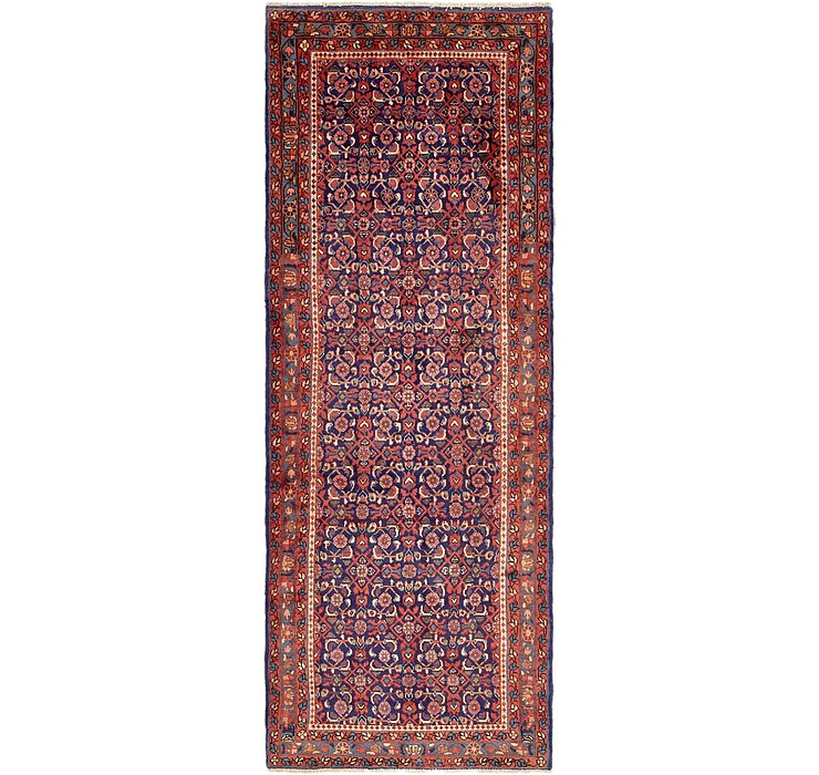 HandKnotted 3' 6 x 9' 7 Hossainabad Persian Run...