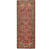 Link to 117cm x 312cm Hossainabad Persian Runner Rug