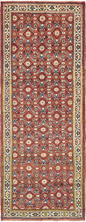 Red 3 8 X 10 Farahan Persian Runner Rug Persian Rugs
