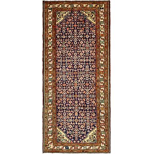 Unique Loom 4' 4 x 10' 2 Hossainabad Persian Run...