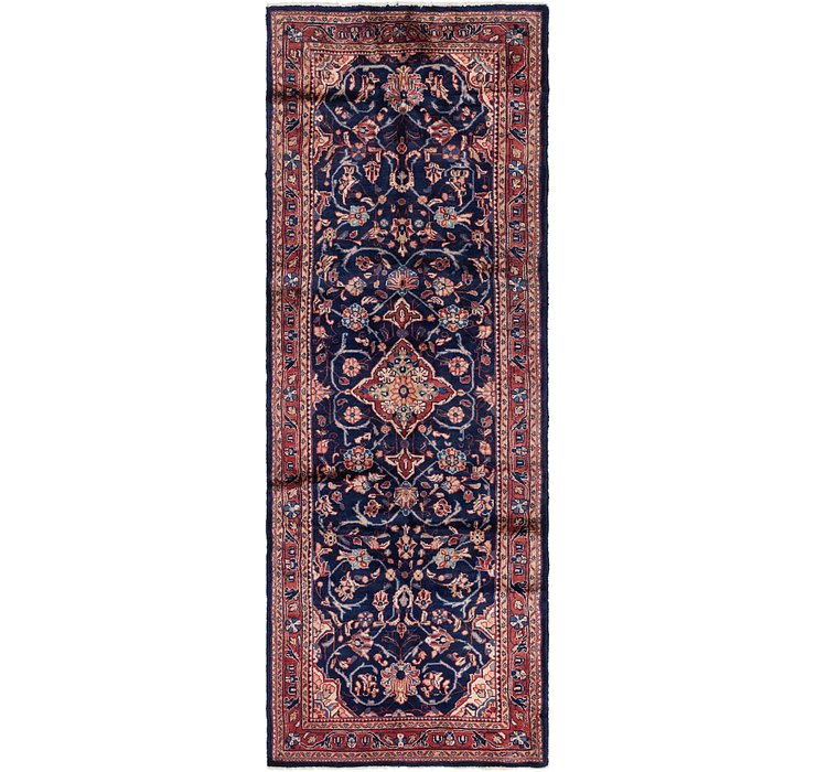 3' 5 x 10' 3 Mahal Persian Runner Rug
