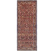 Link to 112cm x 280cm Hossainabad Persian Runner Rug