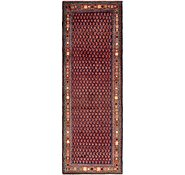 Link to 3' 7 x 10' 10 Hamedan Persian Runner Rug