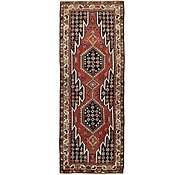Link to 3' 8 x 9' 9 Mazlaghan Persian Runner Rug
