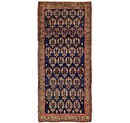 Link to 4' x 8' 9 Khamseh Persian Runner Rug