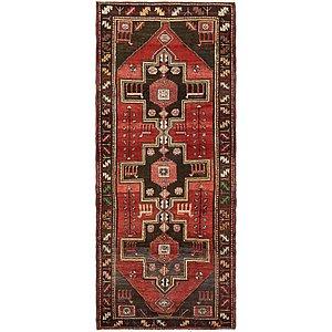 110cm x 275cm Saveh Persian Runner Rug