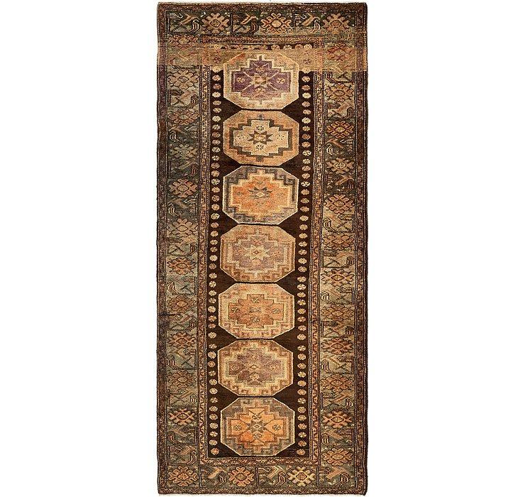 4' 1 x 9' 7 Zanjan Persian Runner Rug