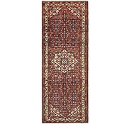 Link to 105cm x 295cm Hossainabad Persian Runner Rug