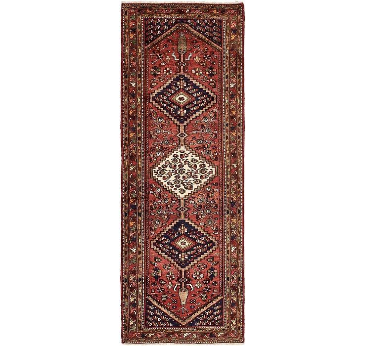 3' 6 x 10' Zanjan Persian Runner Rug