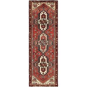 102cm x 310cm Saveh Persian Runner Rug