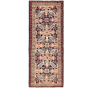 Link to 3' 8 x 9' 7 Saveh Persian Runner Rug