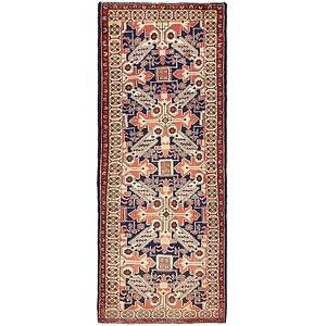 112cm x 292cm Saveh Persian Runner Rug