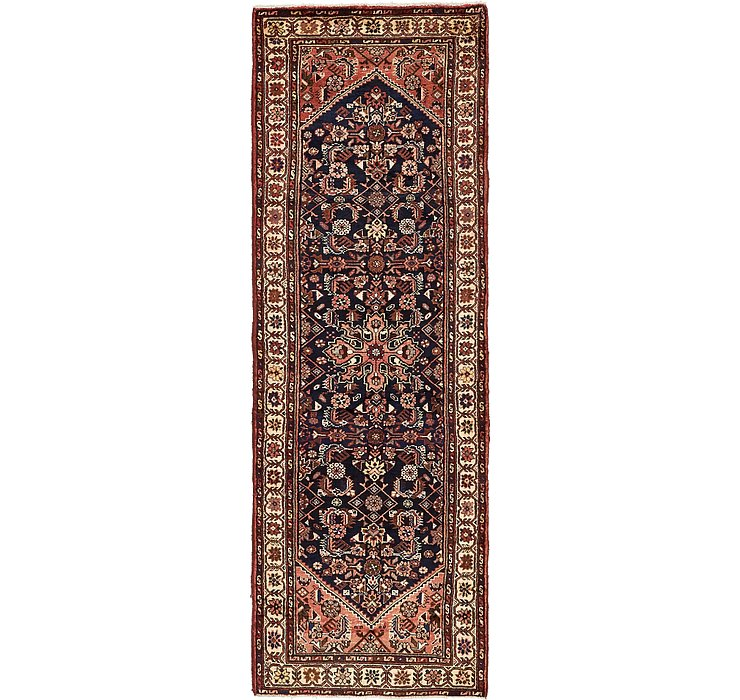 107cm x 315cm Hossainabad Persian Run...