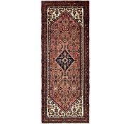 Link to 3' 10 x 10' Hossainabad Persian Runner Rug