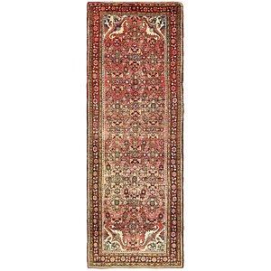 Unique Loom 3' 6 x 10' 3 Hossainabad Persian Run...
