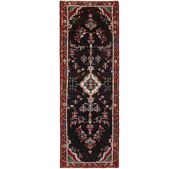 3' 7 x 10' 4 Darjazin Persian Runner...