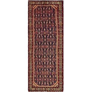 3' 6 x 9' 8 Hossainabad Persian Run...