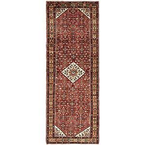 3' 9 x 10' 5 Hossainabad Persian Run...