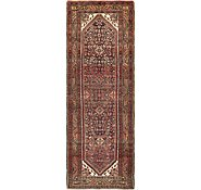 Link to 112cm x 323cm Hossainabad Persian Runner Rug