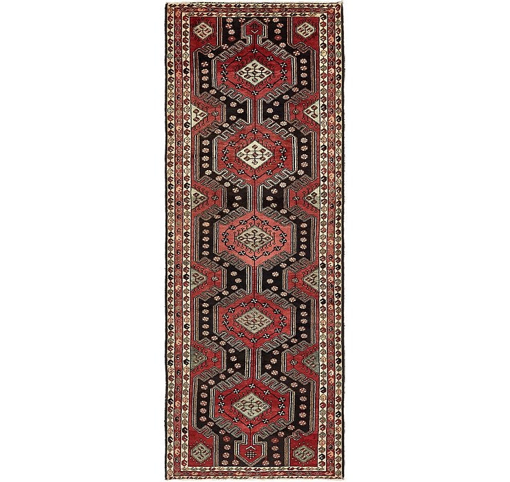 HandKnotted 3' 7 x 9' 9 Malayer Persian Runner ...