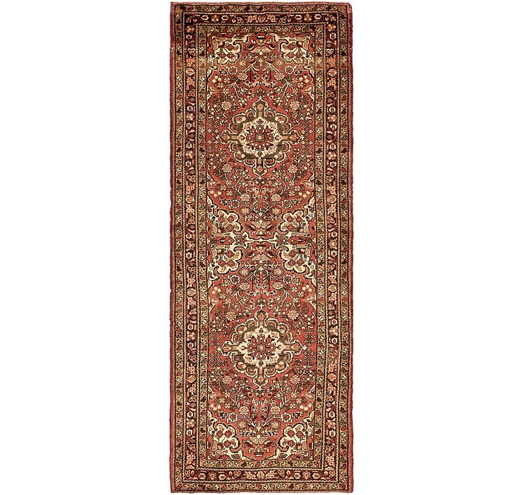 3' 9 x 10' 7 Borchelu Persian Runner...