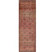 Link to 3' 9 x 12' Hossainabad Persian Runner Rug