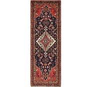Link to 3' 7 x 10' 5 Hamedan Persian Runner Rug