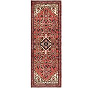 Link to 102cm x 297cm Hossainabad Persian Runner Rug