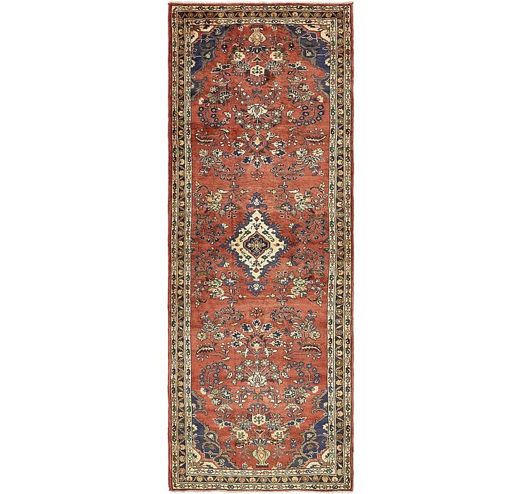 3' 8 x 10' Khamseh Persian Runner ...