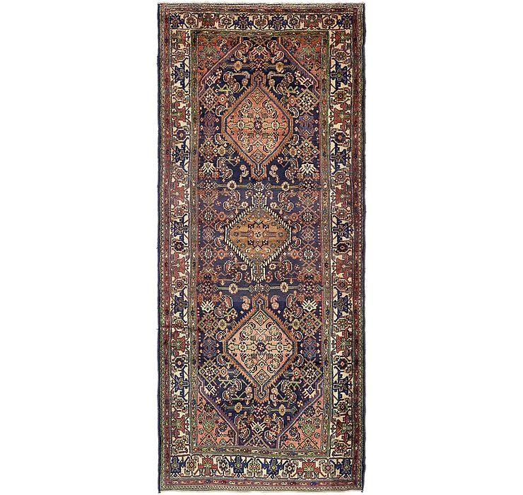 4' 2 x 10' 9 Darjazin Persian Runner...