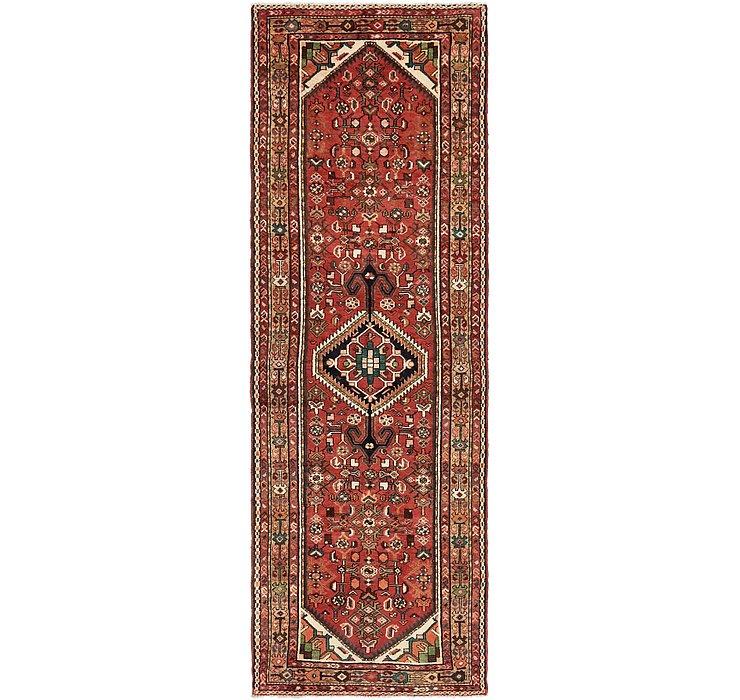 3' 3 x 9' 6 Zanjan Persian Runner Rug