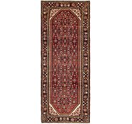 Link to 107cm x 285cm Hossainabad Persian Runner Rug