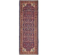 Link to 102cm x 290cm Hossainabad Persian Runner Rug