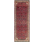 Link to 107cm x 295cm Hossainabad Persian Runner Rug