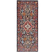 Link to 4' 2 x 9' 9 Hamedan Persian Runner Rug