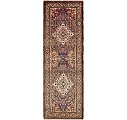 Link to 3' 7 x 10' 10 Hossainabad Persian Runner Rug