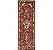 Link to 3' 7 x 10' 8 Hossainabad Persian Runner Rug