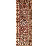 Link to 107cm x 320cm Hossainabad Persian Runner Rug