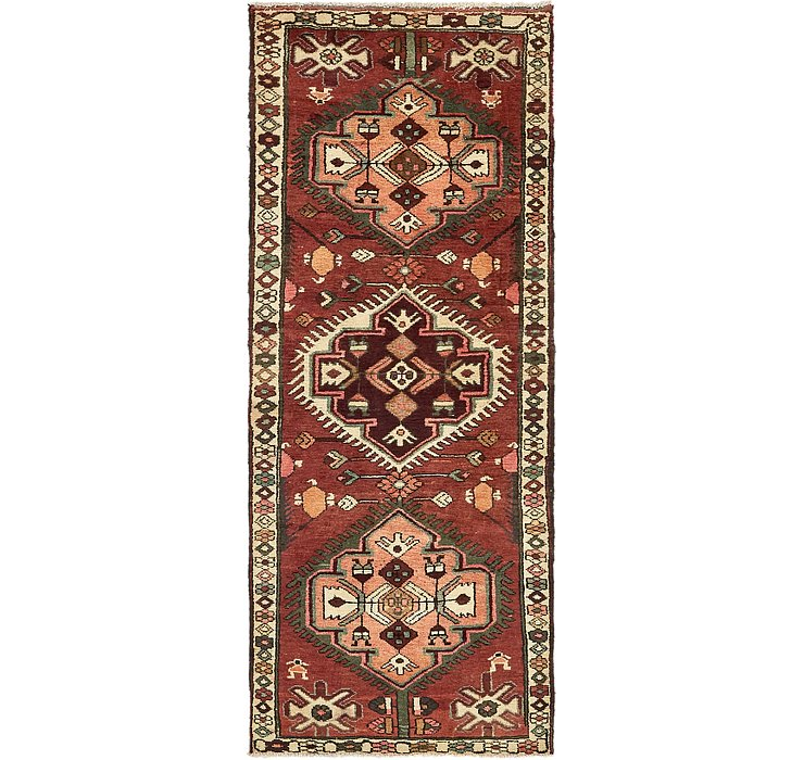 3' 4 x 9' Bakhtiar Persian Runner...