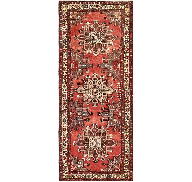 3' 9 x 9' 9 Saveh Persian Runner Rug