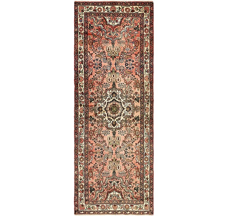 3' 8 x 10' 3 Khamseh Persian Runner ...