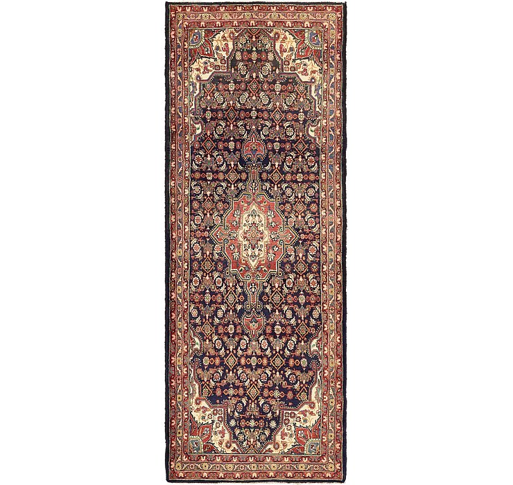 3' 9 x 10' 2 Khamseh Persian Runner ...