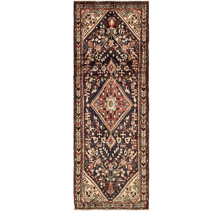 3' 6 x 10' Hamedan Persian Runner ...