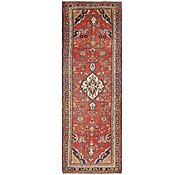 Link to 3' 7 x 11' Khamseh Persian Runner Rug