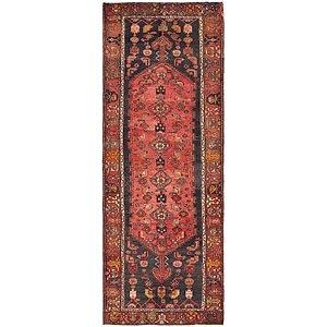 3' 7 x 9' 8 Zanjan Persian Runner Rug