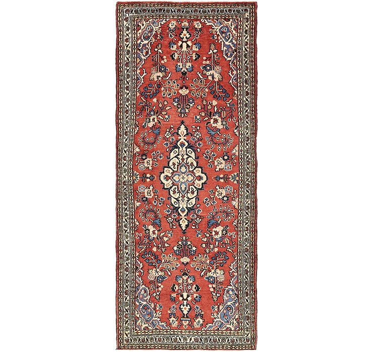 3' 8 x 9' 10 Khamseh Persian Runner ...
