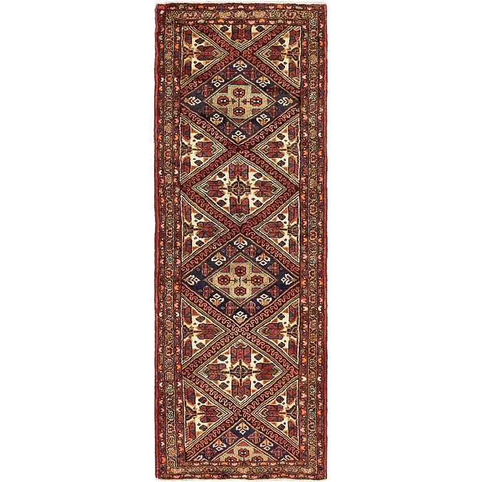 2' 10 x 9' 6 Borchelu Persian Runner...