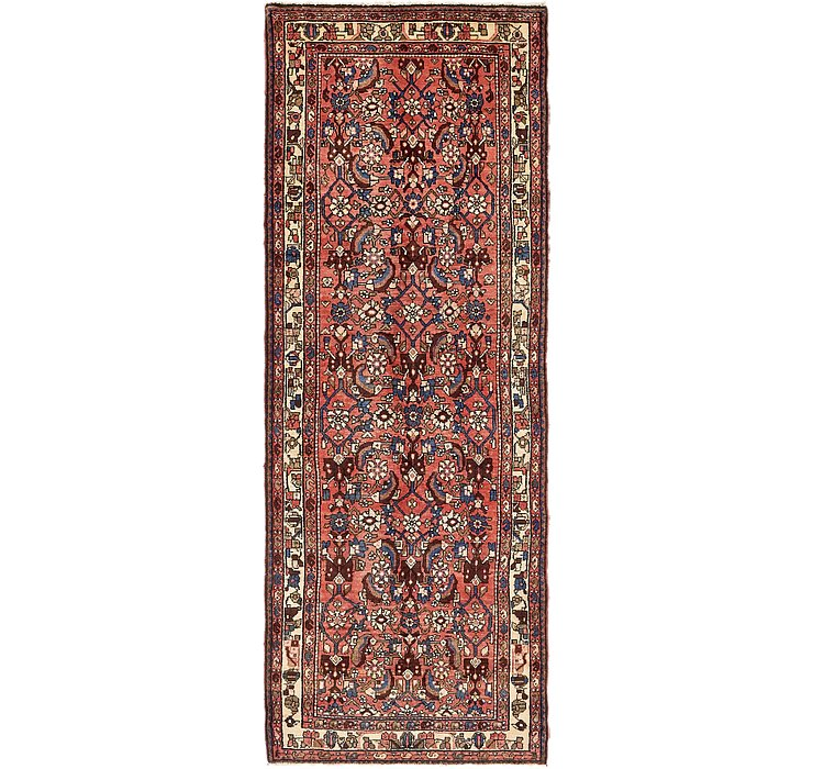 HandKnotted 3' 5 x 9' 9 Borchelu Persian Runner...