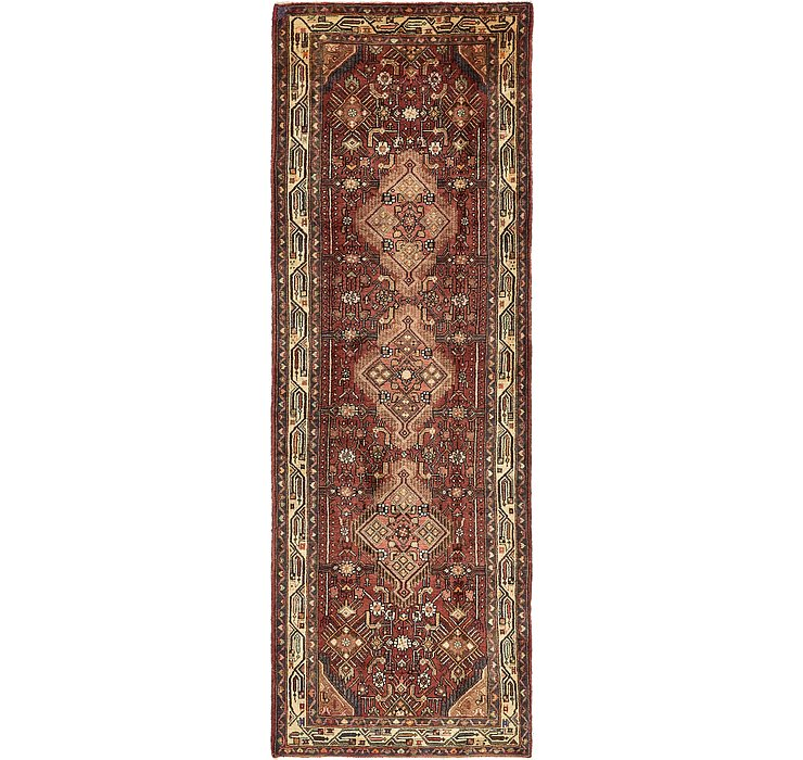 3' 6 x 10' 8 Darjazin Persian Runner...