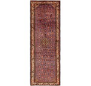 Link to 3' 6 x 10' 5 Hossainabad Persian Runner Rug